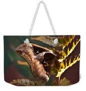 Nocturnal Moth Weekender Tote Bag
