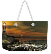 Nocturnal Tranquility Weekender Tote Bag by Lourry Legarde