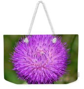 Nodding Thistle Close-up Weekender Tote Bag