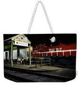 New Orleans Train Stop Weekender Tote Bag