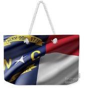 Norh Carolina State Flag Weekender Tote Bag