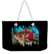 Norm Laknes Train Station Weekender Tote Bag