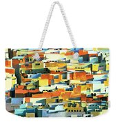 North African Townscape Weekender Tote Bag by Robert Tyndall