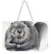 North American Beaver Weekender Tote Bag