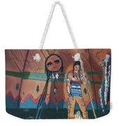 North American Indian Contemplating Weekender Tote Bag