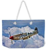 North American P-51 Mustang  Weekender Tote Bag