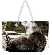 North American River Otter Weekender Tote Bag