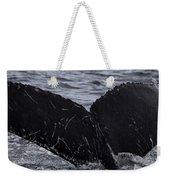 North Atlantic Humpback Weekender Tote Bag