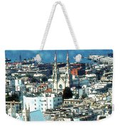 North Beach San Francisco - Watercolor Weekender Tote Bag
