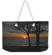 North Beach Sunset Weekender Tote Bag by David Lee Thompson