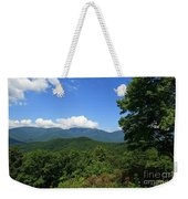 North Carolina Mountains In The Summer Weekender Tote Bag