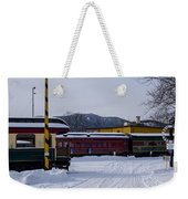 North Conway Nh Scenic Railroad Weekender Tote Bag