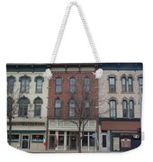 North Country Main Street Of Gouverneur, New York Weekender Tote Bag