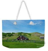 North Dakota Barn Weekender Tote Bag