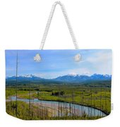 North Fork Flathead River Weekender Tote Bag
