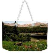 North Fork  Lake Colorado Weekender Tote Bag
