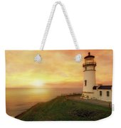 North Head Lighthouse At Sunset Weekender Tote Bag