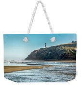 North Head Lighthouse With The Morning Light Weekender Tote Bag
