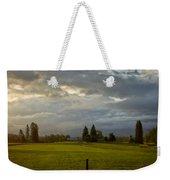 North Idaho Sunrise Weekender Tote Bag