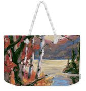 North Lake By Prankearts Weekender Tote Bag
