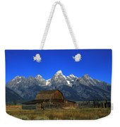 North Moulton Barn Grand Tetons Weekender Tote Bag