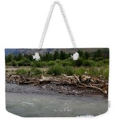 North Of Dubois Wy Weekender Tote Bag