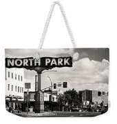 North Park San Diego Weekender Tote Bag