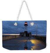 North Pier Reflections Weekender Tote Bag