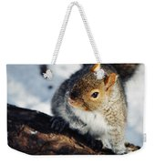 North Pond Squirrel Weekender Tote Bag