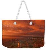 North Rim Storm Clouds Grand Canyon National Park Arizona Weekender Tote Bag