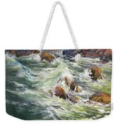 North Shore Drama Weekender Tote Bag