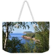 North Shore Lake Superior Weekender Tote Bag