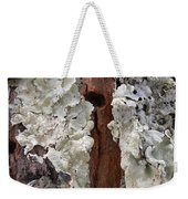 North Side Of A Tree Weekender Tote Bag