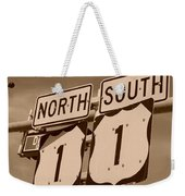 North South 1 Weekender Tote Bag