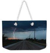 North Talbot Road Lightning Weekender Tote Bag