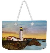 North Truro Light House Cape Cod Weekender Tote Bag