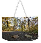 North Woods Road Two Weekender Tote Bag