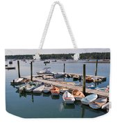 Northeast Harbor Maine Weekender Tote Bag