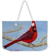 Northern Cardinal 2 Weekender Tote Bag