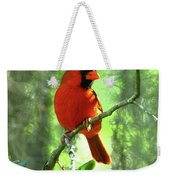 Northern Cardinal Proud Bird Weekender Tote Bag