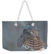 Northern Goshawk, Just Breathe Weekender Tote Bag