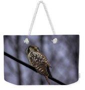 Northern Hawk-owl 6 Weekender Tote Bag