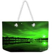 Northern Lights 3 Weekender Tote Bag