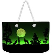 Northern Lights Weekender Tote Bag by Shane Bechler