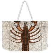 Northern Lobster Weekender Tote Bag