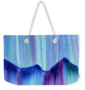 Northern Mountain Lights Weekender Tote Bag