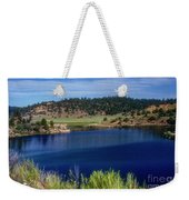 Northern New Mexico Lake Weekender Tote Bag