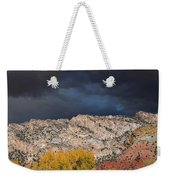 Northern Uintas Autumn Weekender Tote Bag