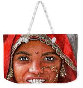 Northindian Woman Weekender Tote Bag