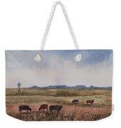 Northwest Oklahoma Cattle Country Weekender Tote Bag by Sam Sidders